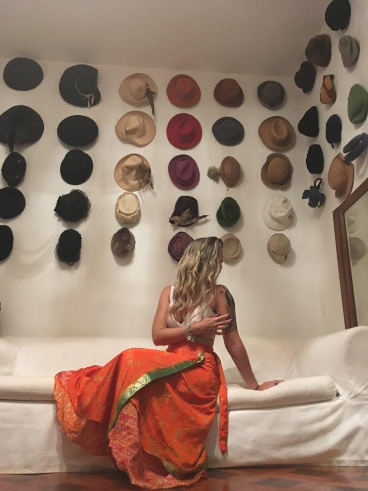 Saia-vestido indiano Peregrina