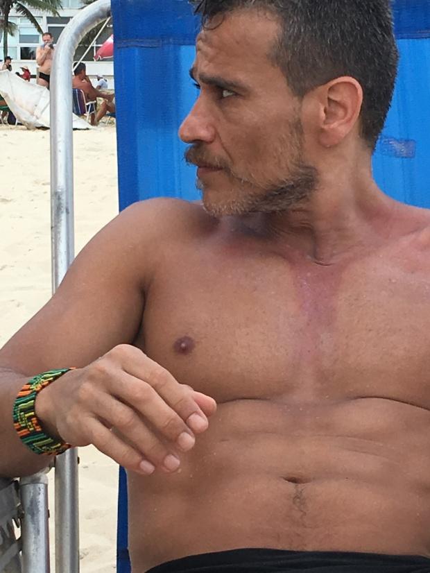 bracelete masculino artesanal colombiaano