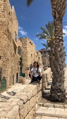 Peregrina em Israel